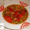 Sertésragu leves gazdagon