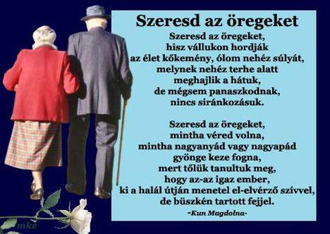 Szeresd az őregeket