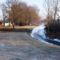 Befagyott a Zsejkei csatorna, Ásványráró község belterületi szakasz 2017. január 11.-én 4