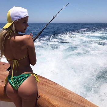Hobbija a horgászat Marissa Everhart