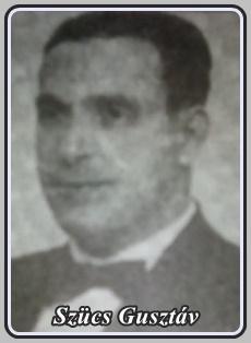 SZÜCS GUSZTÁV 1893 - 1967 ..
