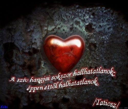 a szív idézetek Idézet: A szív hangjai (kép)