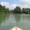 Csákányi Duna-ág, Vízitúrázók a Keszölcési alsó zárásnál, Dunasziget 2016. július 27-én 1