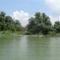 Csákányi Duna-ág, Vízitúrázók a Keszölcési alsó zárásnál, Dunasziget 2016. július 27-én 2