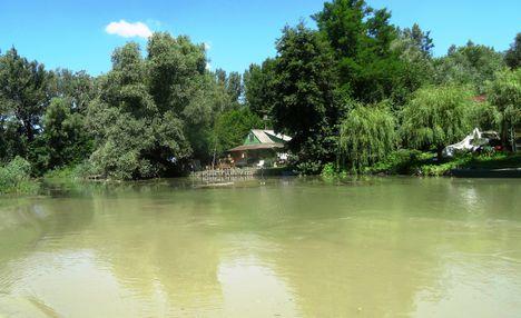 Feketeerdő, a Mosoni-Duna 2016. július 19.-én