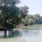 Kajak-kenu kiemelő létesült a Halrekesztői vízszintszabályozó műtárgy felvízi oldalán, Ásványráró 2019. július 18.-án