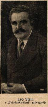 Leo Stein librettista Színházi Élet 1916