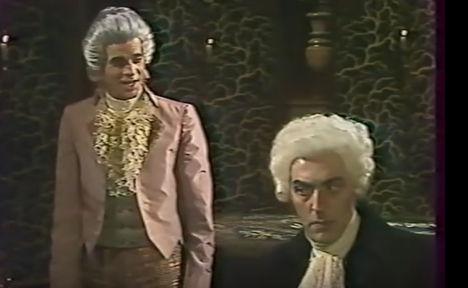 MÁRK LÁSZLÓ Mozart (Rimszkij-Korszakov: Mozart és Salieri), Polgár László - operafilm