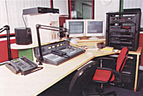 T1Modern rádio studio