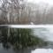 A Mosói bukónál a hullámtéri vízpóló-rendszer főágán a Mosói Duna-ágon, Dunaremete 2017. február 02.-án 5