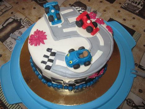 Autópálya torta