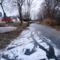 Befagyott a Hidegkúti  (Hédervár-Darnózseli ) csatorna, Darnózseli 2017. január 24.-én  2