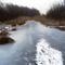 Befagyott a Nováki csatorna ami a Halászi (Arak) és Darnózseli községek közigazgatási határán is végig húzódik, 2017 január 31 (4)