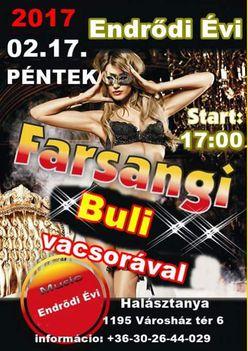 Farsangi buli - Endrődi Évi