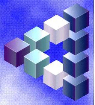 Geometrikus alakzatok Victor Vasarely képein 8