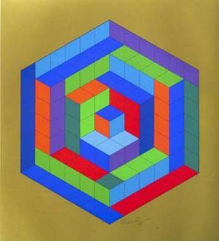 Geometrikus alakzatok Victor Vasarely képein 9