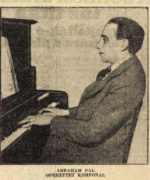 Ábrahám Pál operett és filmzeneszerző Az Est (1930)