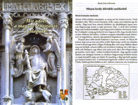 Mátyás király - reneszánszkönyv