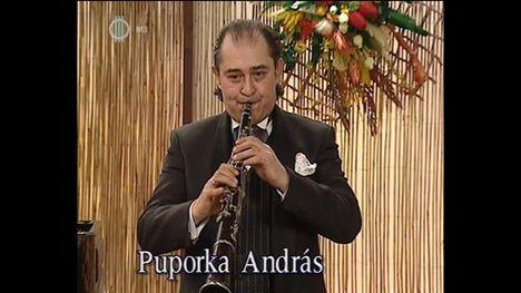 Puporka András klarinétművész