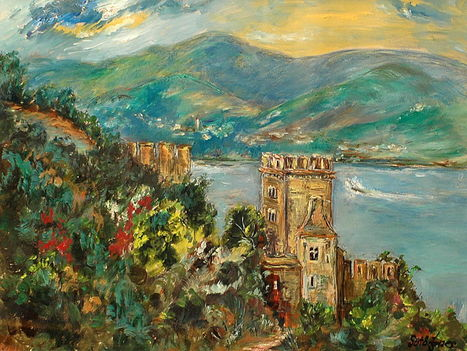 Sütő Ágnes - Visegrád - Salamon torony