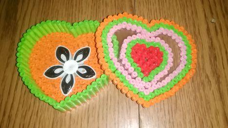 Szív alakú Doboz Valentin Napra 2