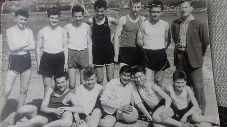 1961. a nyolcadikosok válogatottja