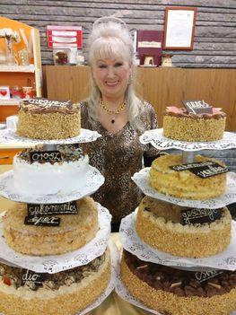 200 szelet torta
