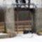 Befagyott a Lajta főmeder a Márialigeti fenékürítő műtárgynál, Hegyeshalom 2017 január 27 (13)