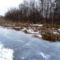 Befagyott a Nováki csatorna, ami a Halászi (Arak) és Darnózseli községek közigazgatási határán is végig húzódik, 2017. január 31.-én 2