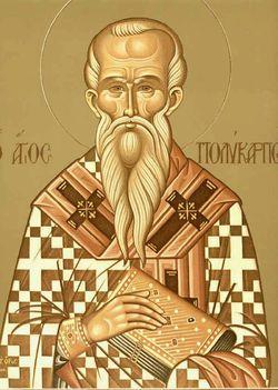 Február23:Szent Polikárp püspök és vértanú