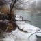 Jeges viszonyok a Mosói Duna-ág partjainál, Dunaremete 2017. február 02.-án 5