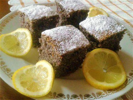 Mákos kevert sütemény recept