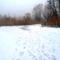 Túra a befagyott Öregszigeti belső tó jegén, Kisbodak 2017. február 03.-án 2