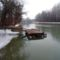Úszóművek a Mosoni-Duna partján, Mosonmagyaróvár 2017. február 10.-én 4