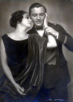 Varsányi Irén (Colette), Csortos Gyula (Jacques)