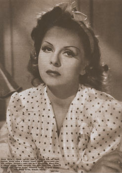 Mezei Mária - A Bűnös vagyok című filmben, 1942