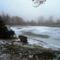 Befagyott a Kanka tó, Dunaremete 2017. február 03.-án 2