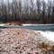 Jeges állapotok a Tilosi vízszintszabályozó műtárgynál, Ásványráró 2017. január 31.-én 2