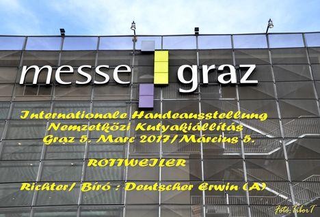 Rottweiler-IHA GRAZ - Nemzetközi Kutyakiállítás 2017 CACIB