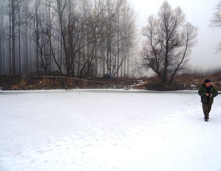 A téli Kalapszigeti Duna-ág, Ásványráró 2017. február 03.-án 6