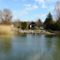 Mosoni-Duna folyó Mosonban a Bicó vendégló és a Csikusz melletti szakaszon, Mosonmagyaróvár 2017. március 07.-én 4