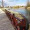 Mosoni-Duna folyó Mosonban a Bicó vendégló és a Csikusz melletti szakaszon, Mosonmagyaróvár 2017. március 07.-én 5