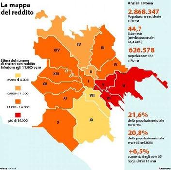 Róma szegénységtérképe 2017