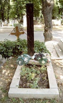 Turai Ida és Békeffi István sirja