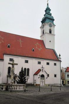 A magyaróvári Szent Gotthárd templom,  Mosonmagyaróvár 2016. november 21.-én