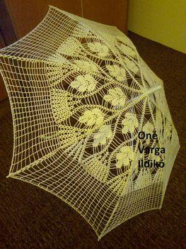 horgolt napernyő