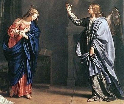 Március 25 - Urunk születésének hírüladása, Gyümölcsoltó Boldogasszony
