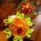 Quilling virágok fatojásra