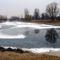 Lipóti Kövecses-tó télen, 2017. január 31.-én 2