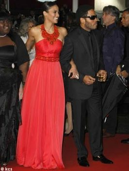 Paula Patton és Lenny Kravitz